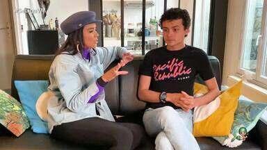 Max Petterson e Georrane Freitas conversam com Niara Meireles direto de Paris - Max Petterson e Georrane Freitas conversam com Niara Meireles direto de Paris