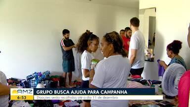 Em Manaus grupo de voluntários pede ajuda para campanha de Natal - Doações serão recolhidas até o dia 11 de dezembro.