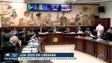 Lei Orçamentária Anual de Uberaba para 2020 é aprovada em primeiro turno na Câmara - Valor previsto para o próximo ano é de mais de R$ 1,5 bilhão, quase 10% maior que o orçamento aprovado para 2019. Segunda discussão deve ocorrer nos próximos dias.
