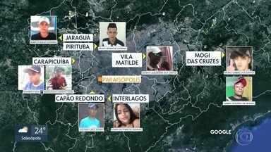 Vítimas da tragédia em Paraisópolis eram jovens moradores de outros bairros - Mais dois jovens foram sepultados nesta terça-feira (3).