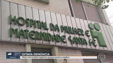 Mais uma mulher denuncia ginecologista suspeito de abuso sexual - Já são 8 denúncias contra o médico Edilei Rosa de Novaes, suspeito de abusar sexualmente de pacientes.