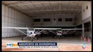 Prefeitura de Divinópolis vai a Brasília para seguir com viabilização de aeroporto - O Aeroporto Brigadeiro Cabral está com os voos comerciais suspensos desde março de 2018.