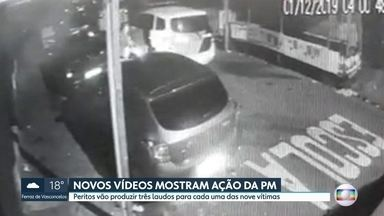 Novas imagens mostram policial militar atirando bombas na comunidade de Paraisopolis - 9 jovens morreram durante ação da PM enquanto ocorria um baile funk