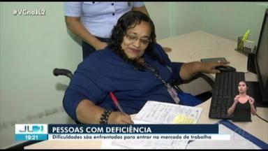 PCDs ainda enfrentam dificuldades para entrar no mercado de trabalho no Pará - PCDs ainda enfrentam dificuldades para entrar no mercado de trabalho no Pará