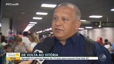 Agnaldo Liz assume o sub-23 do Vitória no Baianão após 15 anos - Equipe principal passou por uma reformulação e presidente Paulo Carneiro garantiu a permanência do técnico Geninho para 2020.