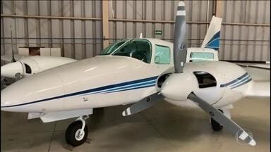 Polícia prende 11 pessoas em operação de combate ao tráfico internacional de drogas - Segundo a PF, onze aviões apreendidos eram usados para trazer cocaína da Bolívia. O tráfico para a Europa era pelo porto de Santos.