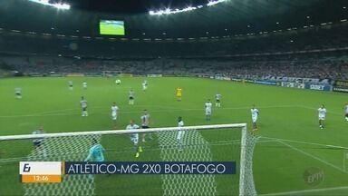 Atlético-MG vence o Botafogo e Cruzeiro faz jogo decisivo pelo Brasileirão - Atlético-MG vence o Botafogo e Cruzeiro faz jogo decisivo pelo Brasileirão