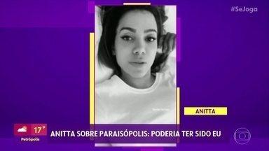 Artistas se manifestam sobre tragédia em Paraisópolis - Anitta questiona ação da polícia. Projota, Pocah e Kondizilla também falam sobre a morte dos 9 jovens em baile funk