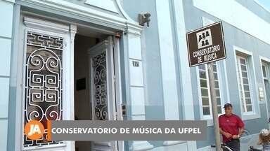 Prédio do Conservatório de Música será de uso exclusivo da UFPel em 2020 - Assista ao vídeo.