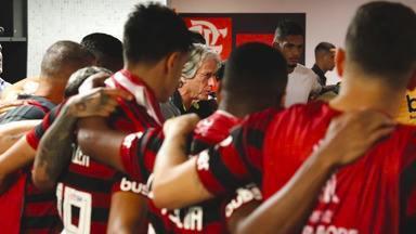 Os Mistérios do Mister - Em Portugal, amigos e familiares falam sobre Jorge Jesus, o Mister, treinador do Flamengo. E também a história das oitavas de final com o drama de Diego contra o Emelec.
