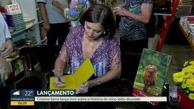 Jornalista Cristina Serra lança livro sobre a história do mico-leão-dourado - Obra retrata desde o primeiro registro histórico feito pelos portugueses, que completa 500 anos.