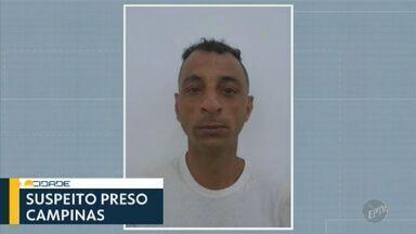 Suspeito de matar mulher esfaqueada e roubar casa é preso em Campinas - Prisão foi realizada na quinta-feira (5). Homem confessou que entrou na casa para roubar e assassinou a vítima na última terça (3), segundo a Polícia Civil. Suspeito cometeu outro latrocínio em 2016.