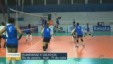 Confira os jogos da Superliga de Vôlei no fim de semana - Equipe feminina de Valinhos joga nesta sexta-feira (6); time masculino de Campinas entra em quadra no domingo (8).