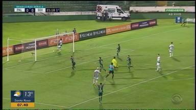 Inter assegura vaga na pré-libertadores após vitória do Palmeiras sobre o Goiás - Confira os gols da goleada do Palmeiras sobre o Goiás.