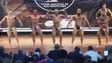 Santos é palco da competição de fisiculturismo mais tradicional da América Latina - Sexagésima quinta edição do Mister Santos será neste sábado (7), a partir das 10h (de Brasília), no auditório do Sindipetro.