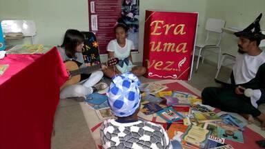 Programa nacional de incentivo à leitura chega em povoado de Vitória da Conquista - Confira como foi recebido o 'Proler' em Dantilândia, no sudoeste do estado.