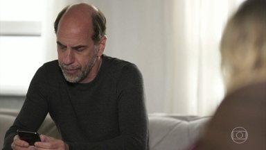 Max decide responder Guga em suas redes sociais - Regina diz que o marido está piorando sua própria situação
