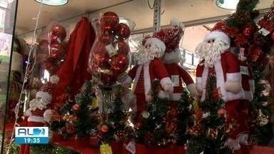 Festas de fim de ano aquecem vendas do comércio em Maceió - Lojistas investem nas promoções e decorações natalinas.