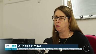 Prefeitura de Petrópolis levanta fila de espera da saúde e Defensoria cobra solução - Atendimento médico da região não tem um monitoramento preciso dos pacientes.