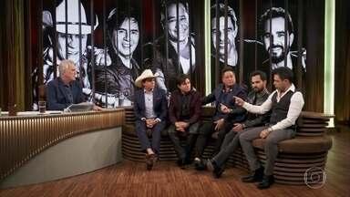 Zezé di Camargo & Luciano, Chitãozinho & Xororó e Leonardo relembram a origem dos 'Amigos' - Eles explicam que a amizade surgiu antes do programa