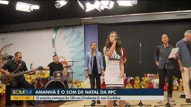 Amanhã (08) é dia da apresentação do Som de Natal em Curitiba - O evento começa às 13h no Cindacta II.