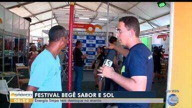 Festival Begê Sabor e Sol destaca produção de energia limpa - Festival Begê Sabor e Sol destaca produção de energia limpa