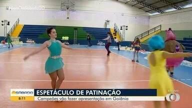 Patinadores apresentam Divertidamente em Goiânia - Espetáculo fala sobre as emoções e a importância de cada uma na nossa formação.