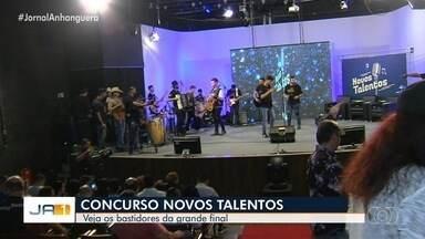Final do concurso Novos Talentos da TV Anhanguera acontece neste sábado em Goiânia - Quatro candidatos participaram da disputa.