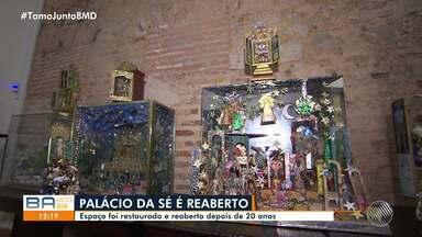 Museu sobre história da Igreja Católica é reaberto em Salvador após reformas - O local ficou fechado por vinte anos e foi aberto novamente na sexta-feira (6).