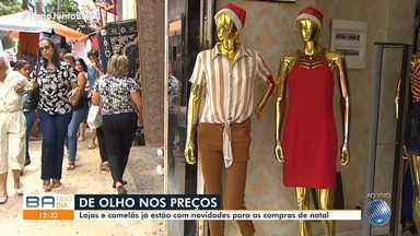 Movimento na Avenida Sete, em Salvador, é intenso no primeiro sábado de dezembro - Muita gente foi logo adiantar as compras natalinas.