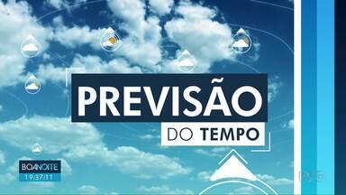 Previsão é de tempo aberto neste domingo (08) em Londrina - A temperatura máxima chega aos 28º. Pode voltar a chover na segunda-feira (09).