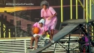 Olimpíadas do Faustão: 'Ponte do Rio que Cai' - Relembre o quadro que marcou época no 'Domingão'