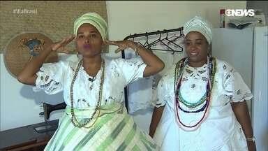Baianas do acarajé, um símbolo da Bahia