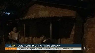 Dois homens são assassinados no fim de semana, em Foz - De janeiro até agora, já são 67 homicídios registrados na fronteira