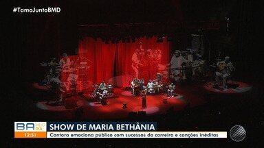 Saulo, Jau e Maria Bethânia arrastam multidão em shows no MAM e TCA - Evento aconteceu no domingo (8), no Solar do Unhão e na Concha Acústica do teatro.