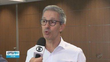 Governador Romeu Zema fala sobre negociações de nióbio - Governador Romeu Zema fala sobre negociações de nióbio