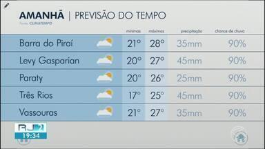 Terça-feira será de tempo instável no Sul do Rio de Janeiro - Sistema de baixa pressão atua na região e faz a nebulosidade aumentar em algumas cidades.