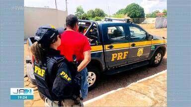 Motorista é preso com documentos falsos pela PRF - Motorista é preso com documentos falsos pela PRF