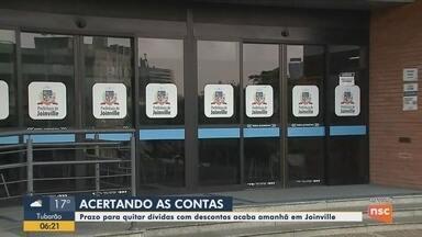 Prazo para quitar dívidas com descontos acaba nesta quarta-feira em Joinville - Prazo para quitar dívidas com descontos acaba nesta quarta-feira em Joinville