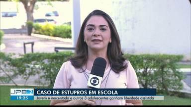 JPB2JP: Novidades no caso de estupros em escola particular da Capital - Jovem é inocentado e outros 3 adolescentes ganham liberdade assistida.