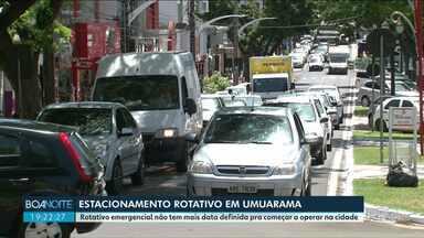 Prefeitura de Umuarama desiste de estacionamento rotativo provisório - Prefeitura aposta em aprovação de projeto para resolver a questão definitivamente.