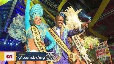 G1 no BDMG: 'O samba é de todos', diz novo Rei Momo de Belo Horizonte - Wallace Guedes representa a festa de 2020 e relata que o fato de ser magro ainda provoca estranhamento.