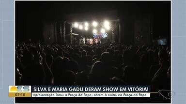Silva e Maria Gadú fazem show gratuito no Dia Internacional dos Direitos Humanos - Evento é chamado de 'Vitória de Todas as Vozes: Um Canto de Igualdade'.