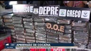 Delegado Cadena fala sobre a investigação que levou à maior apreensão de cocaína no Piauí - Delegado Cadena fala sobre a investigação que levou à maior apreensão de cocaína no Piauí
