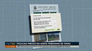 Operação do Gaeco no Paraná prende 10 PMs suspeitos de desviar mercadorias apreendidas - RPC teve acesso exclusivo a documentos da investigação.