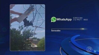Veja as reclamações enviadas para o WhatsApp da TV TEM nesta quarta-feira - Veja as reclamações enviadas para o WhatsApp da TV TEM nesta quarta-feira (11).