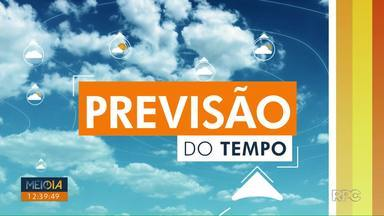 Tempo chuvoso em todo o norte do Paraná para os próximos dias - O sol não deve surgir em Londrina, pelo menos, até sábado (14).