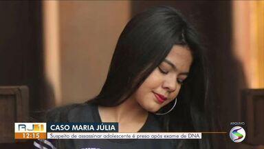 Suspeito de assassinar Maria Júlia é preso em Angra dos Reis - Maicon Douglas foi encontrado na Rua da Caixa D'água, no bairro Santa Rita do Bracuí. Adolescente, de 16 anos, foi morta no dia 24 de outubro, em Barra Mansa.