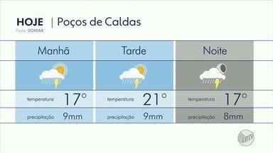 Confira a previsão do tempo para esta quarta-feira (11) no Sul de Minas - Confira a previsão do tempo para esta quarta-feira (11) no Sul de Minas