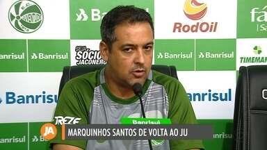 Técnico Marquinhos Santos volta ao Jaconi para temporada 2020 - Treinador passou um período a frente da Chapecoense.